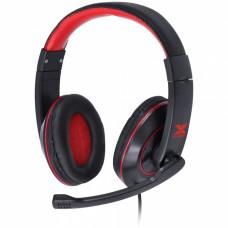 Fone Headset Gamer VX Gaming V Blade II - preto com vermelho - Vinik