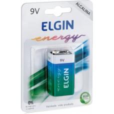 Bateria Alcalina 9V com 01 HT01- ELGIN 82158