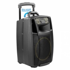 Caixa de Som amplificada multiuso USB/FM/Bluetooth 200W - CF400 APP - Frahm