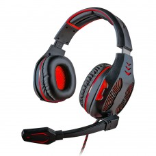 Headset Gamer 5.1 Centauro Vermelho MHP-SP-X13/BKRD - Mymax