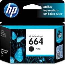 Cartucho de tinta 664 Preto - F6V29AB - HP