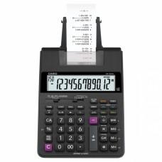 Calculadora de mesa com bobina 12 dígitos  HR-100RC-BK-B-DC  Preta - Casio