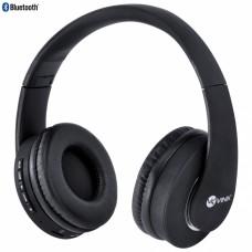 Headset Bluetooth Easy WH com FM e leitor de cartão preto HW100 - Vinik