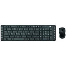 Kit Teclado e Mouse sem Fio K-W50BK - C3 Tech