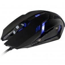Mouse Gamer Arbor 2400 DPI com LED Azul OPM-ARBOR/BL - Mymax