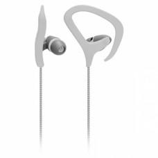 Fone de Ouvido com cabo de nylon e microfone Fitness - Branco - PH168 - Multilaser