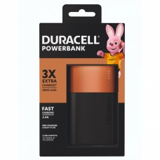 Carregador Portátil Power Bank 10500 mAh até 3 cargas extras - Duracell