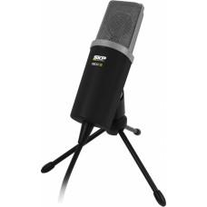 Microfone profissional para PC - SAPODCAST100 - SKP