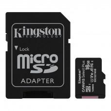 Cartão de memória Micro SDHC 16GB Canvas Select Plus SDCS2/16GB - Kingston