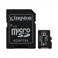 Cartão de memória Micro SDXC 64GB Canvas Select Plus SDCS2/64GB - Kingston