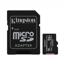 Cartão de memória Micro SDXC 64GB Canvas Select Plus SDCS2/64GB - Kingston