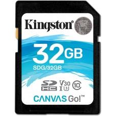 Cartão Memória SDHC 32GB Canvas Go! SDG/32GB - Kingston
