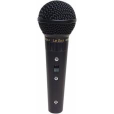 Microfone profissional  com fio SM58 BK A/B - Leson