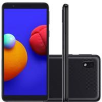 """Smartphone Samsung Galaxy A01 Core Tela Infinita de 5.3"""" 2GB Ram 32GB Memória Câmera 8MP"""