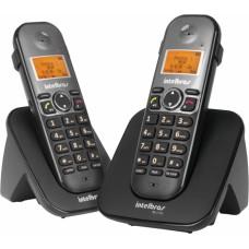 Telefone sem fio + ramal com ID e saída p/ fone ouvido TS-5122 - Intelbras