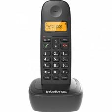 Telefone sem fio com identificador de chamadas TS2510 ID Preto Intelbrás