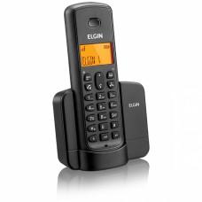 Telefone sem fio com identificador de chamadas e viva-voz TSF8001 Preto - ELGIN