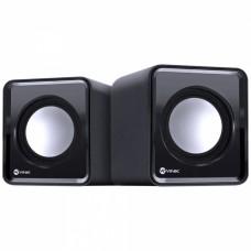 Caixa de som 2.0 USB 5V 2X 1W com controlador de volume - VS-01 - Vinik