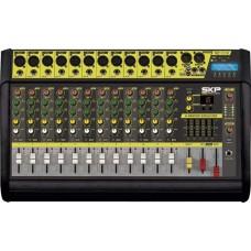 Mesa de som amplificada 12 canais,500W com MP3, entrada USB, com efeitos -  VZ-120-II - SKP